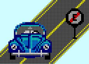 o que e um pixel art
